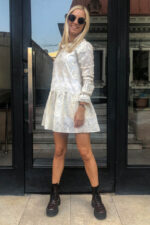 Rochie eleganta din dantela de bumbac Antoanelle