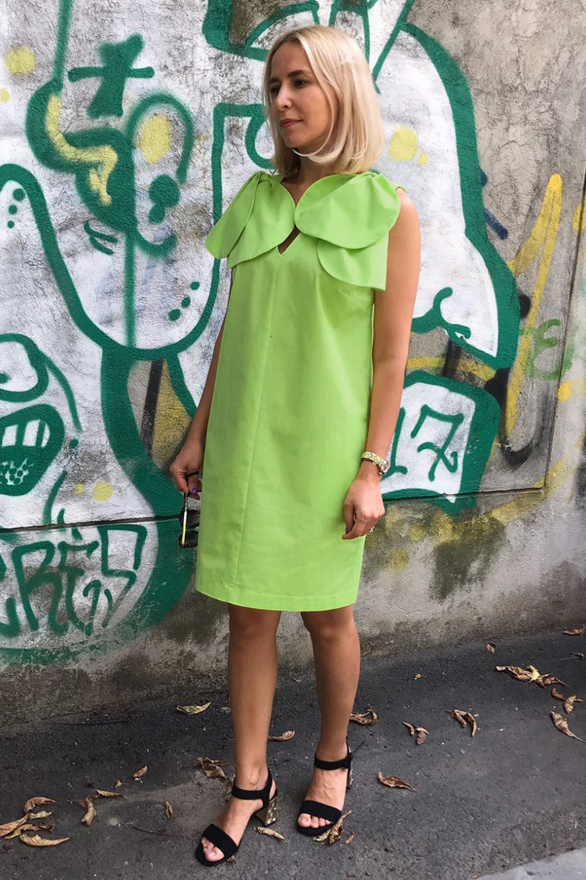 Rochie eleganta de zi Paola