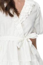 Rochie eleganta scurta din in Valene
