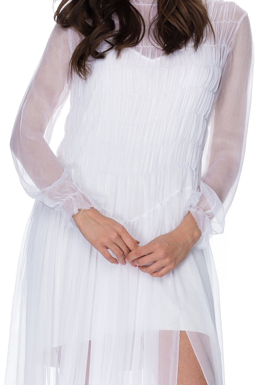 Rochie eleganta lunga din matase Erin
