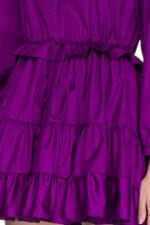 Rochie eleganta scurta din bumbac Luisa